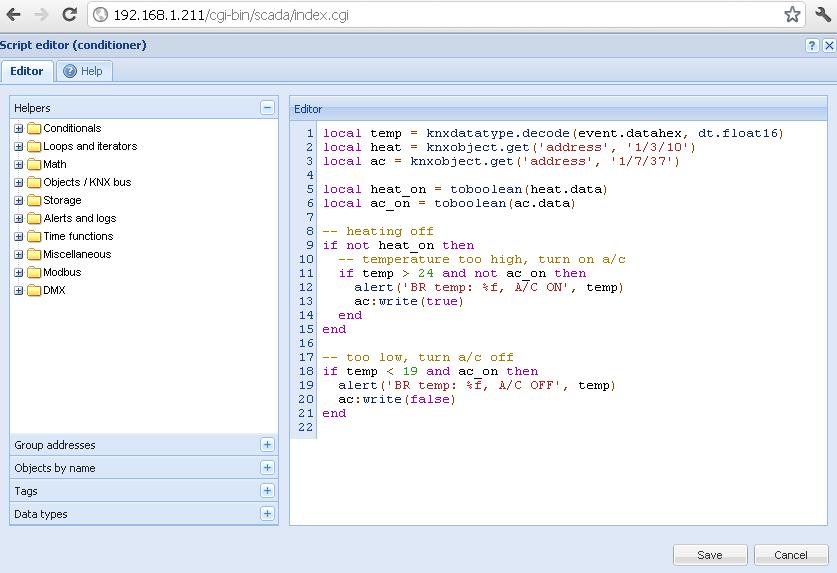 Resident script A/C control Logic Machine