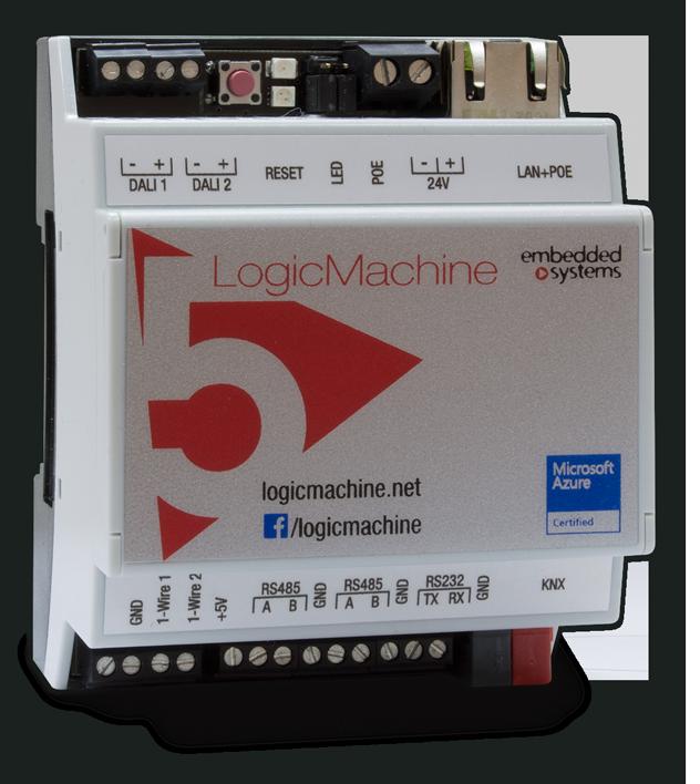 LogicMachine5 Power DW1 | Logic Machine platform for KNX/EIB