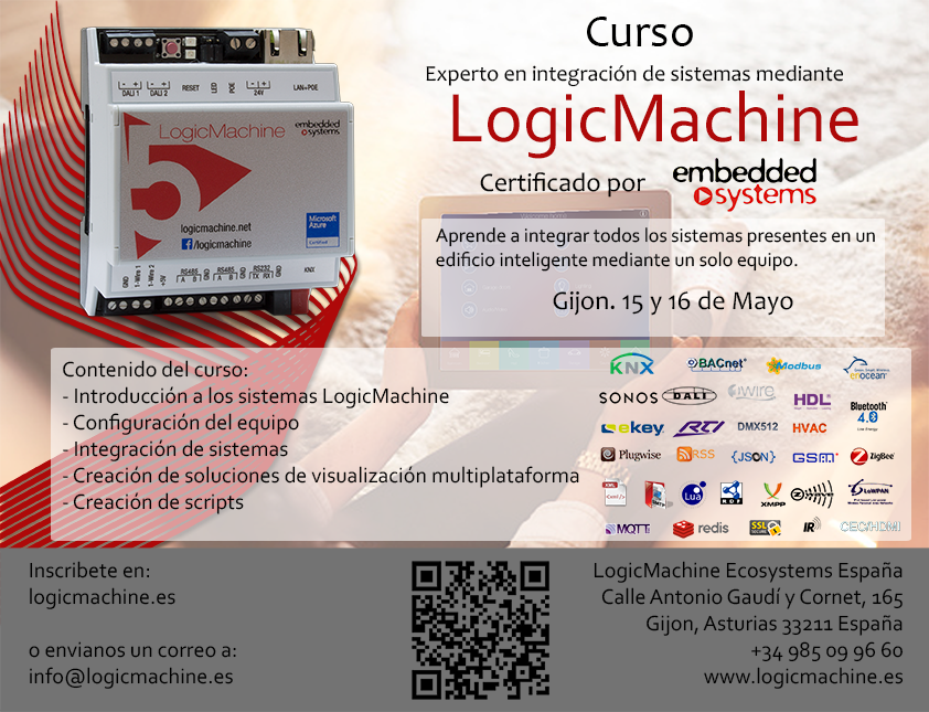 Training Spain 15-16 05 2017   Logic Machine platform for
