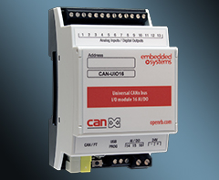 Universal 16 channel I/O CANx extension