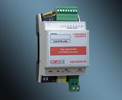 CANx / LoRa 433 MHz 8 x PT1000 sensor inputs