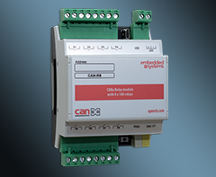 CANx 8 x 10A relays